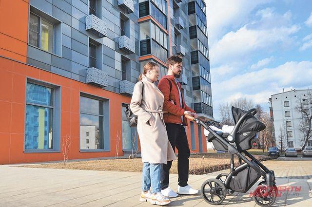 Дом на Дмитрия Ульянова, 45, и его будущие жители.