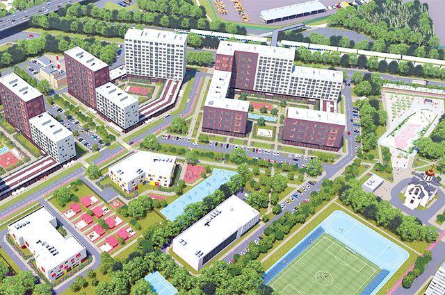 Проект планировки территории посёлка Западный района Солнцево (ЗАО).