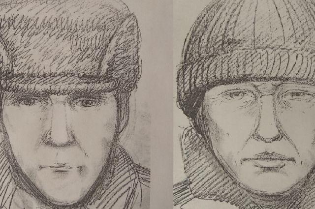 СК опубликовал портреты подозреваемых в убийстве