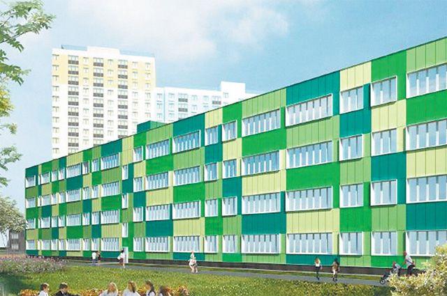 Новая школа в «Лучах» будет построена поиндивидуальному проекту.