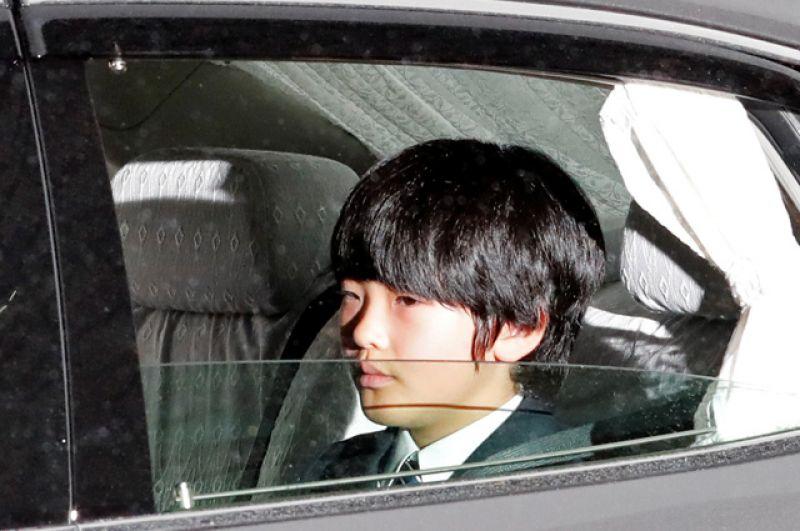 Японский принц Хисахито.