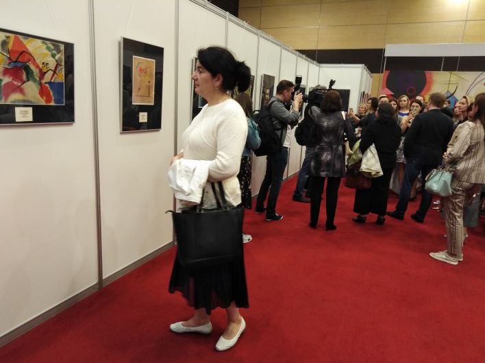 Площадь экспозиции, открывшейся 30 апреля в «ДонЭкспоцентре», это 9000 квадратных метров современного искусства