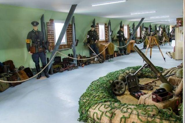 В музее военно-исторического клуба