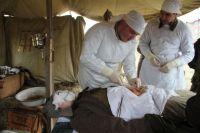 Реконструировали всё, в том числе и военный госпиталь.