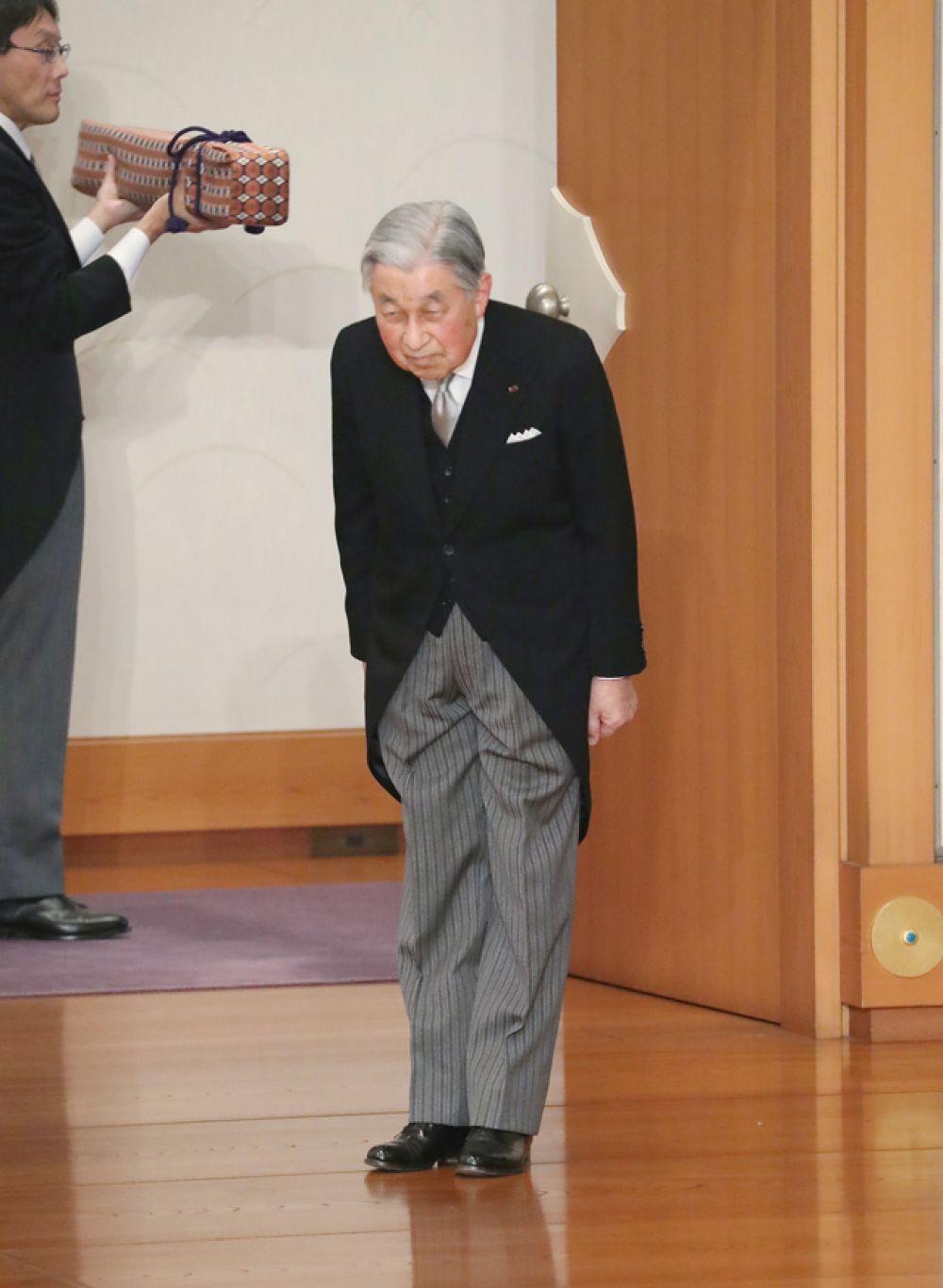 Император Японии Акихито.