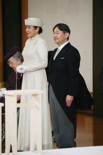 Наследный принц Японии Нарухито и наследная принцесса Масако.