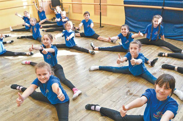 Кроме народных и бальных, дети разучивают современный танец вколлективе Everydance.