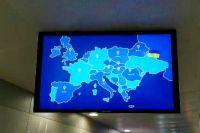 В аэропорту «Борисполь показали карту Украины без Крыма