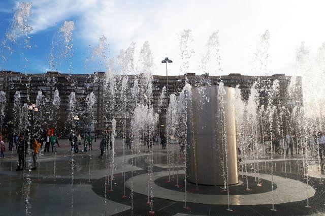 В Тюмени готовятся к запуску фонтанов