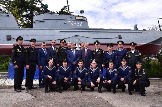 Тюменские единороссы будут сотрудничать с моряками Черноморского флота
