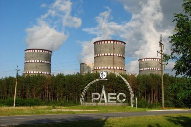 На Ровенской АЭС после пожара восстановлена работа энергоблока
