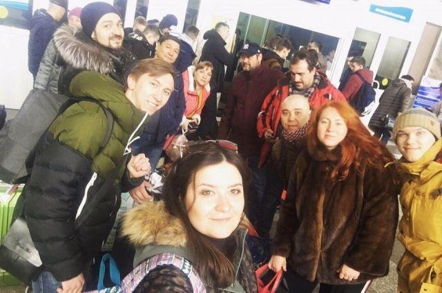 Актеры «Каморки» вернулись с гастролей по Ямалу