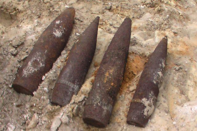Найденные предметы не опасны: они оказались заготовками для снарядов.