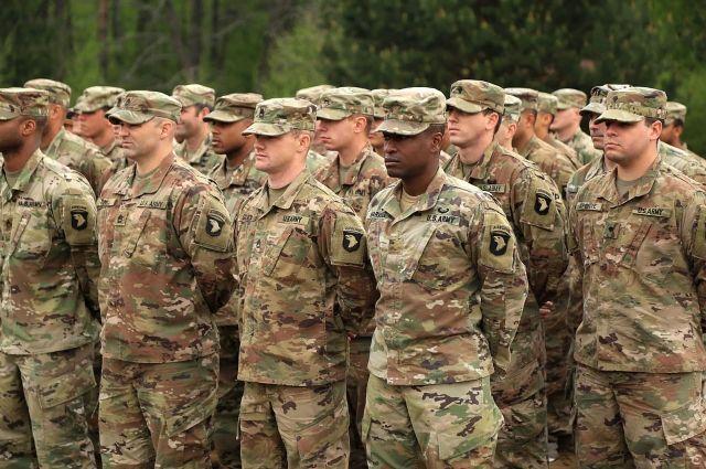 Во Львовскую область прибыло более сотни американских десантников