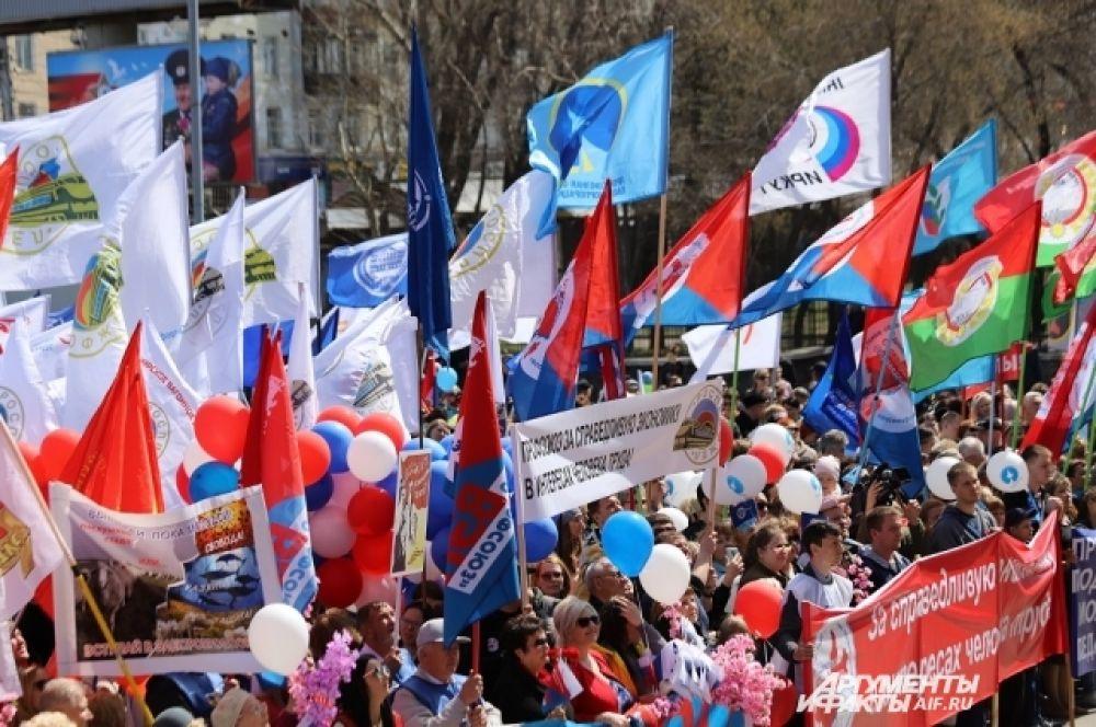 Подобные демонстрации были проведены по всей Иркутской области.