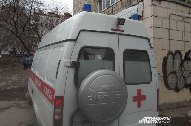 Ребёнок попал в больницу после ДТП.