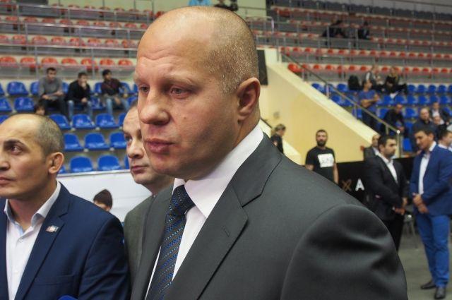 Фёдор Емельяненко: пока непланирую баллотироваться впрезиденты РФ