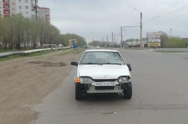 В Оренбурге водитель «ВАЗа» сбил пьяного пешехода
