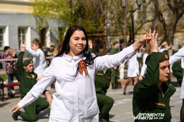 В Оренбурге 6 мая станцуют «Вальс Победы»