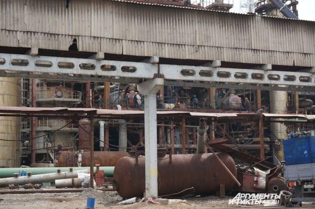 ЧП с гибелью рабочих случилось во время проведения сварочных работ при производстве аммиака.