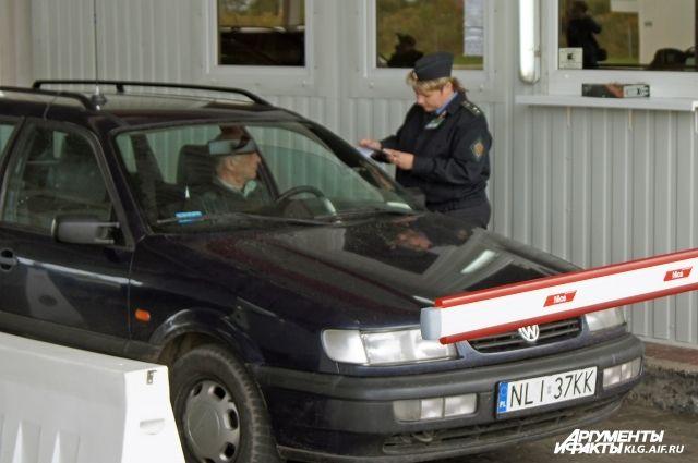 В праздники из Калининградской области на автомобилях выехало почти 50 тыс. человек