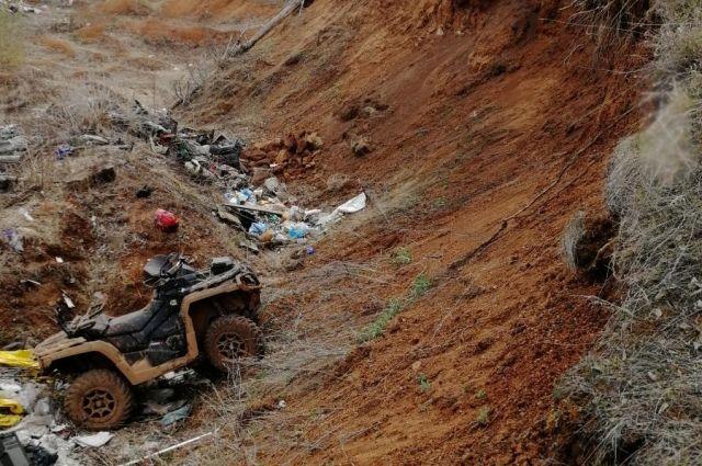 В Удмуртии в ДТП погиб водитель квадроцикла