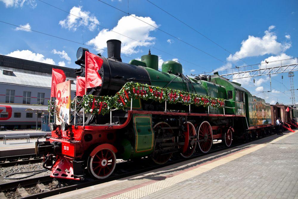 Акция «Поезд Победа» проводится в Ростовской области уже в десятый раз