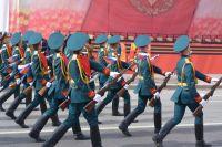 Репетиция Парада Победы собрала сотни тюменцев