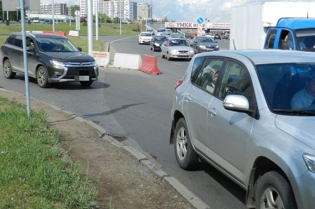 Автомобили двигались не более 20 км в час.