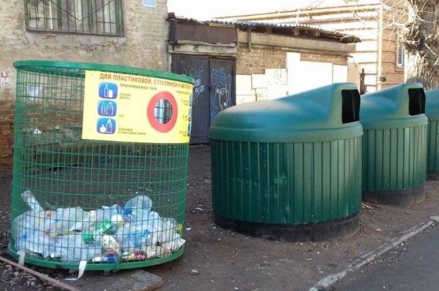 В Оренбурге плохо просчитано обустройство контейнерных площадок.