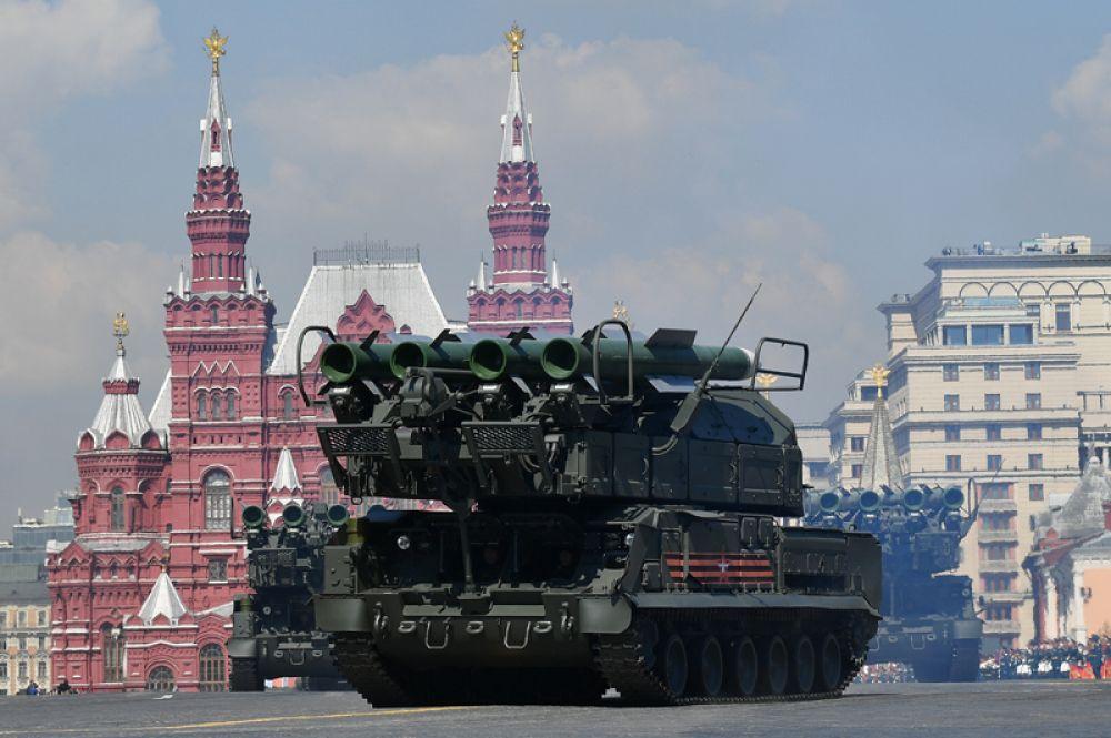 Зенитный ракетный комплекс «Бук-М2».