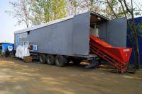В Полтавской области создали передвижную станцию для сортировки мусора