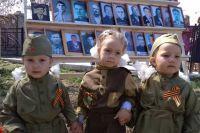 Дети носят форму с особым трепетом.