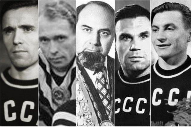Виктор Чукарин, Николай Сологубов, Аркадий Воробьёв, Анатолий Парфёнов, Иван Удодов.