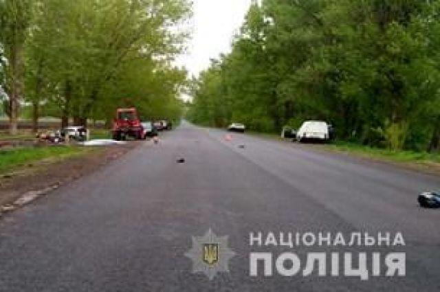 Под Киевом пьяный депутат за рулем насмерть сбил отца и сына