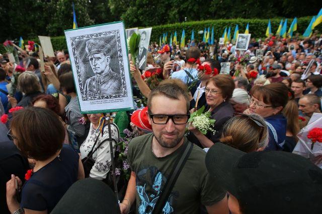 ВКиеве задержана организатор украинского аналога шествия «Бессмертный полк»