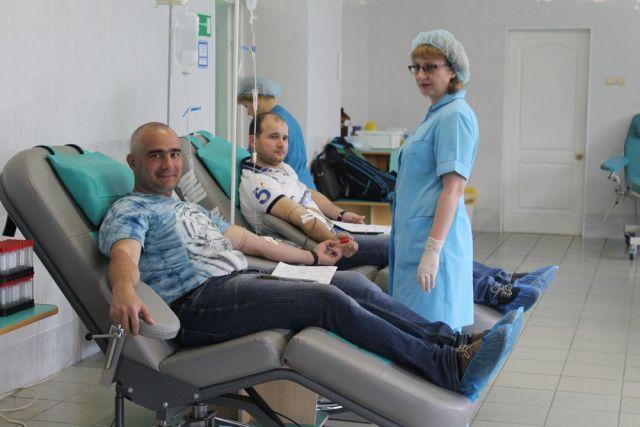В крае много добровольцев, желающих безвозмездно помочь здоровью других людей.