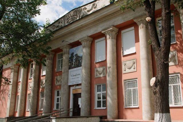 В музее изобразительных искусств  со времён СССР никакие работы не проводились.
