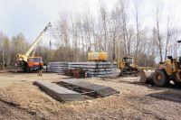 К строительству нового зверинца в м-не Нагорном приступили ещё в начале 2017 г.