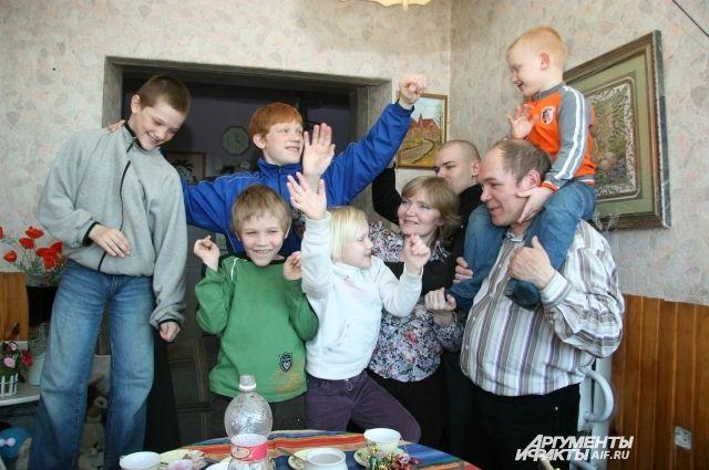 С 2019 года семьи, в которых трое и больше несовершеннолетних детей, получат дополнительные налоговые льготы.