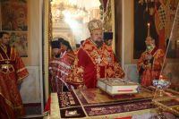 В Свято-Стефановском соборе это уже не первый случай, когда иконы мироточат.