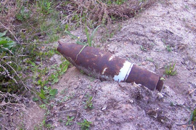 На территории СНТ в Калининграде обнаружили два артснаряда