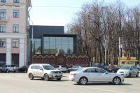 Недостроенный центр «Волков-Плаза», по мнению градозащитников, нарушает целостность исторической среды.
