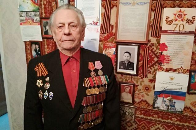 Фёдор Архипович Шелков в 17 лет ушёл на фронт.