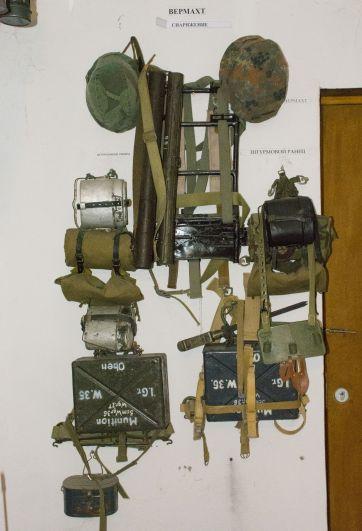 Вот так выглядели штурмовые ранцы, которые носили военные Верхмата.