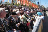 С каждым годом всё меньше ветеранов принимает участие в праздновании Дня Победы.