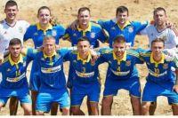 Сборная Украины по пляжному футболу отправилась в Испанию