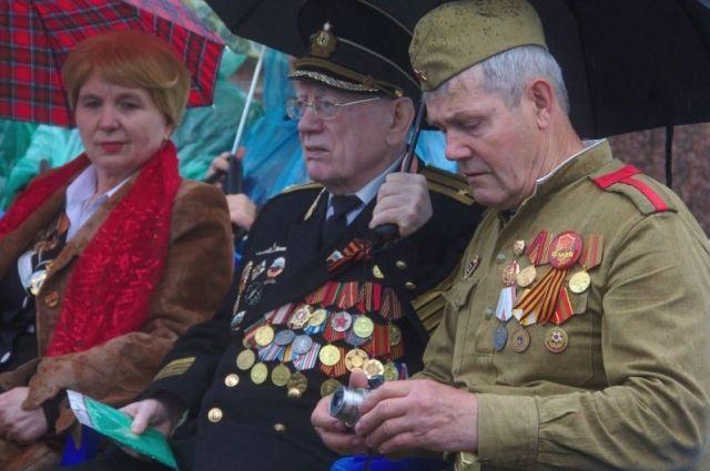 Ветеранов с каждым годом на парадах всё меньше.