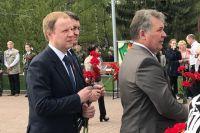 Виктор Томенко на Мемориале Славы