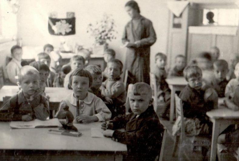 Ухтинский детский сад, 1944 г.